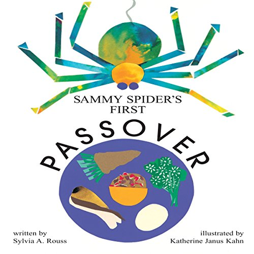 Sammy Spider's First Passover audiobook cover art