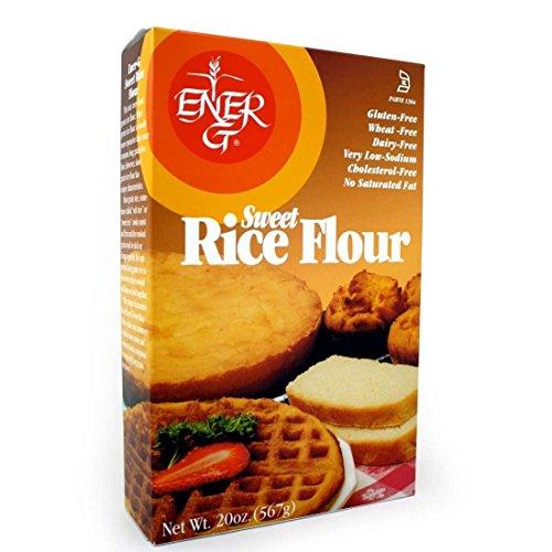 ENER-G FOODS   Flour-Sweet Rice - 20 Oz [Gluten Free] [1 Pack]