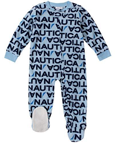 Nautica - Manta para bebé, Water Blue Print, 24 Meses