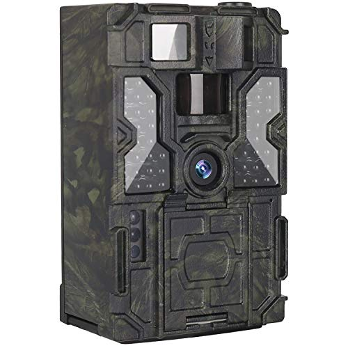 Kuool T3 Trail Camera with Night Vision Motion Activated 48pcs 850NM IR LEDs,1080P 16MP Wildlife Hunting Game Cam,3 Trigger Sensors 0.2s Trigger Speed 130°PIR Sensor Angle 2.0' LCD Display