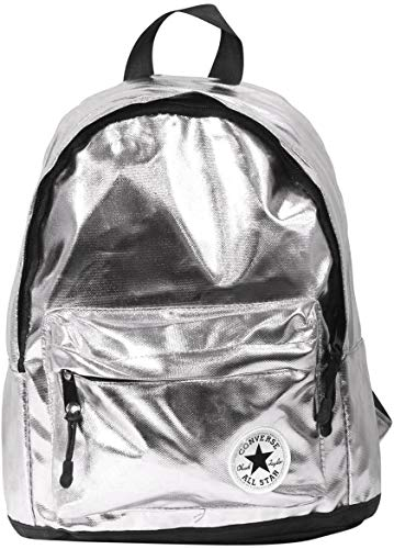 Converse Kid's Daypack Small Metallic Silver Backpack