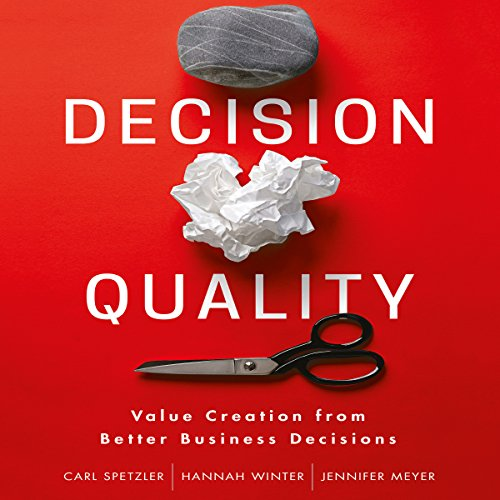 Decision Quality audiobook cover art