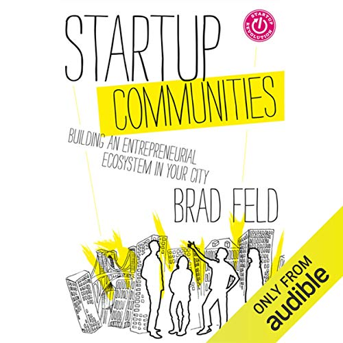 Startup Communities audiobook cover art