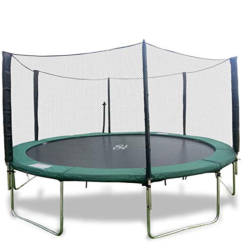 Happy Trampoline - Galactic Xtreme Gymnastic Round Trampoline with...