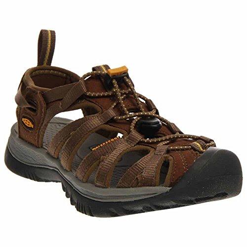 KEEN Whisper Women's Walking Sandals - SS15-6.5 - Brown