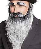 Boland 01846 Bart Alter Mann mit Augenbrauen und Schnurrbart, One Size