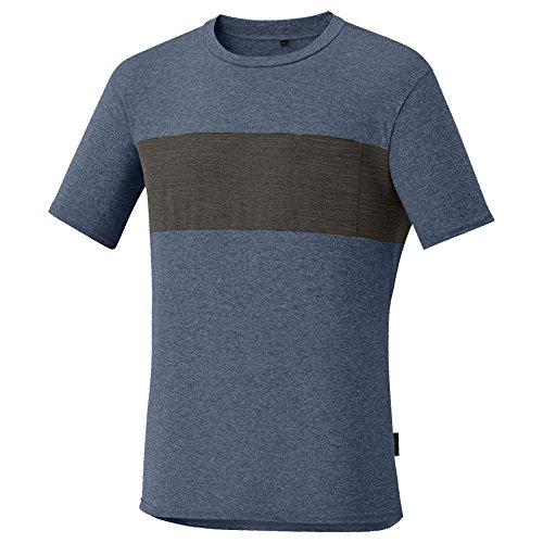 SHIMANO Camiseta M/C SH Transit, Hombre, Nav, S