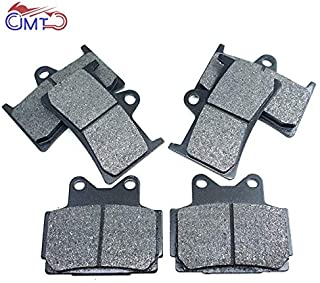 For Yamaha Fzs600 Fzs600S Fazer Fzs 600 S 2001 Tzr250R 1990-1994 Tzr250Rs 1993-1994 Front Rear Brake Pads Set Kit (Front And Rear)