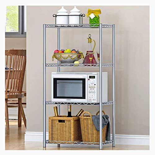 WSC Microondas Horno de Carro Condimento Cocina Rack estantes de Almacenamiento en Rack de Almacenamiento en Rack (tamaño : 120cm×56cm×35cm)