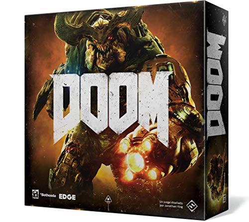Comprar juego de mesa: Fantasy Flight Games Doom El Juego de Tablero (FFZX01)