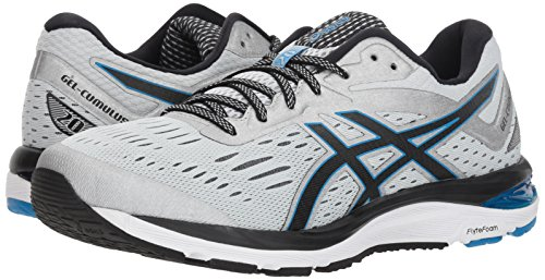 ASICS Men's Gel-Cumulus 20 Running Shoes, 11.5M, Glacier Grey/Black 4