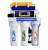 Depuratore acqua a osmosi inversa con serbatoio e mineralizzatore