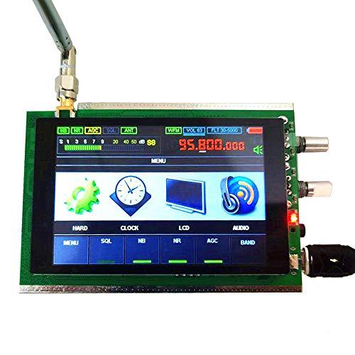 APROTII Receptor DSP SDR para Malahit, Malahit 50KHz-200MHz DSP SDR Receptor de radio de onda corta Amateur Jamón Radio, AM, SSB, NFM, WFM