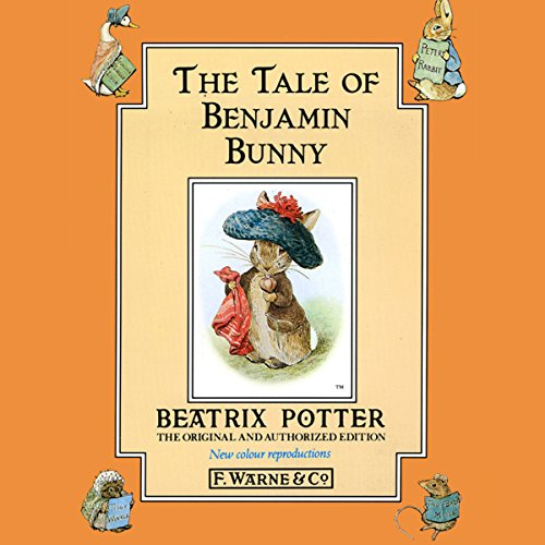 Tale of the Benjamin Bunny audiobook cover art