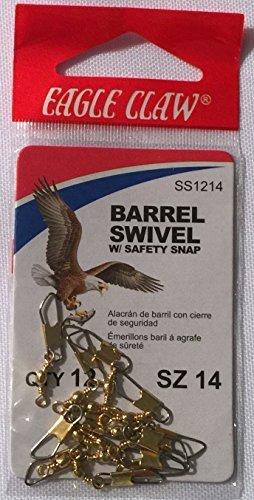 Eagle Claw Snap Swivel, Brass