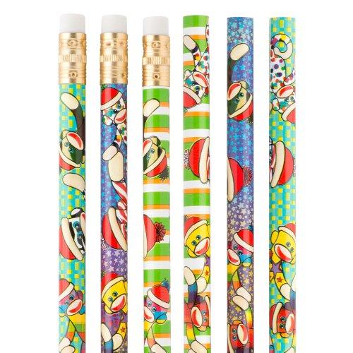 Sock Monkeys Pencils - 50 per Pack
