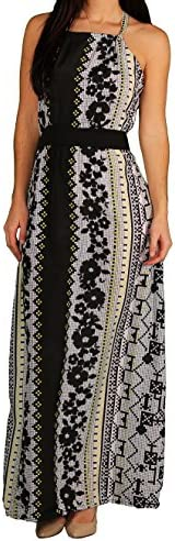 Apple Bottoms Junior Aztek Print Halter Dress Aztek Size Large product image