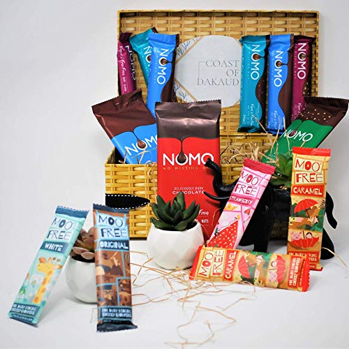 Ultimate Vegan Chocolate Dairy Free Organic Gifts Hamper Box