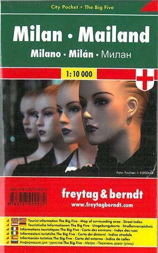 Mailand, City Pocket + The Big Five: 1:10000