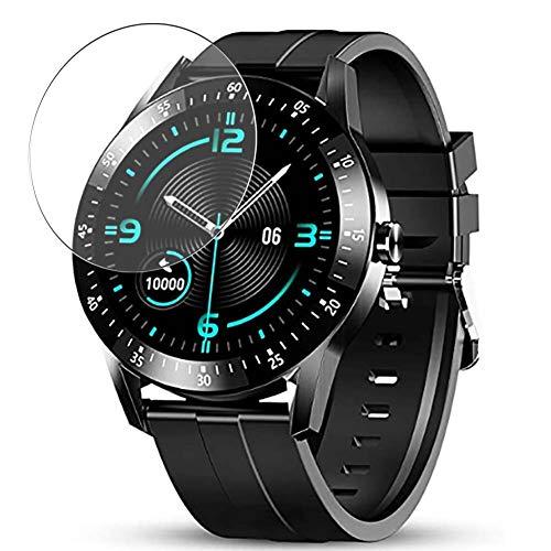 Vaxson Protector de Pantalla de Cristal Templado, compatible con GOKOO S11 1.28' Smart watch, 3 Unidades 9H Film Screen Protector