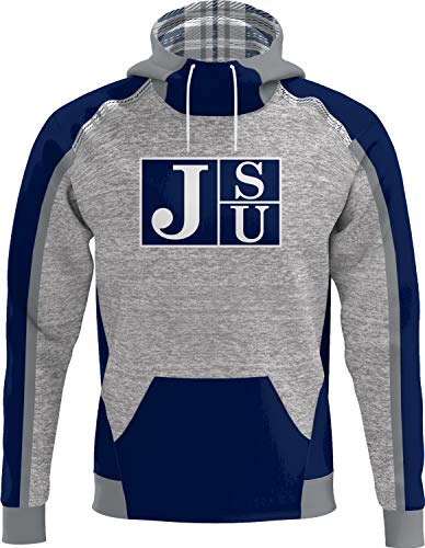 ProSphere Jackson State University Men's Scuba Hoodie (Heritage) 725F754A Blue and Gray
