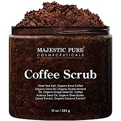 coffee scrub- majestic pure