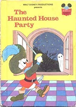 The Haunted House Party - Book  of the Disney's Wonderful World of Reading