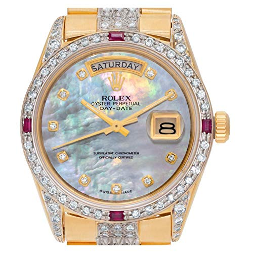 Certified Pre-Owned Rolex Day-Date Reference 18038 Watch. Comes with No Box or Papers. Watch is as is