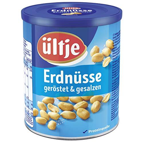 ültje Erdnüsse, geröstet und gesalzen, Dose 500g