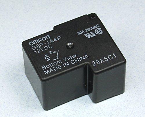 Advanced Electronics (RR #58) Omron General Purpose Relay, G8P-1A4P-12VDC 30A 250VAC