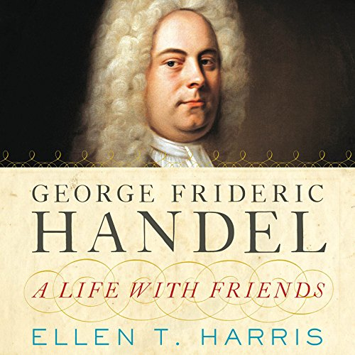 George Frideric Handel audiobook cover art