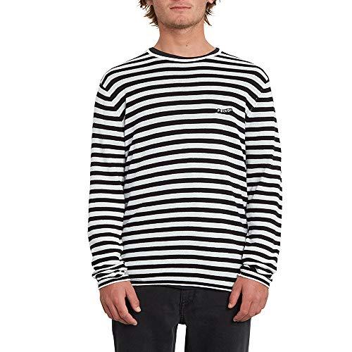 Volcom Beamer Sweater – Felpa da Uomo, Uomo, Felpa, A0712001, Bianco, S