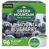 Green Mountain Coffee Roasters Wild Mountain Blueberry, Single-Serve Keurig K-Cup Pods, Flavored Light Roast Coffee Pods, 96 Count