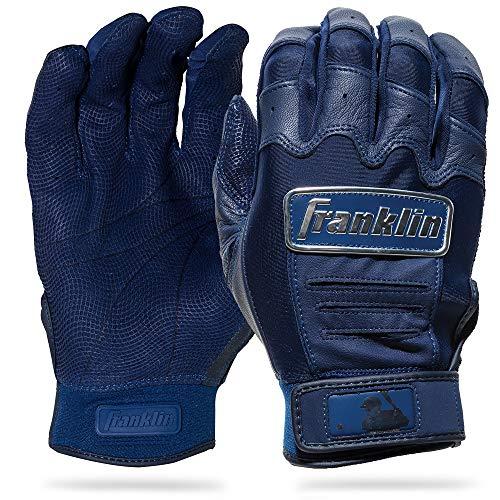 Franklin Sports CFX Pro Full Color Chrome Series Batting Gloves CFX Pro Full Color Chrome Batting Gloves, Navy, Adult Large