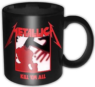 Metallica – Premium Tazza in Ceramica – Kill Em all – Logo – Scatola Regalo