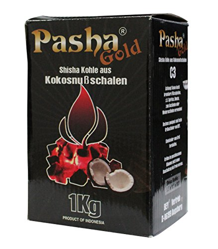 Shisha Kohle aus Kokosnußschalen 1kg