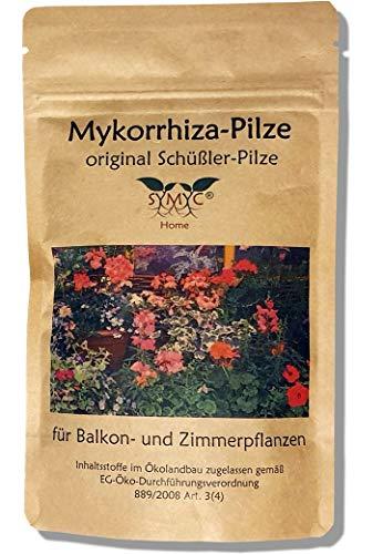 Mykorrhiza-Pilz Konzentrat für Balkon- und Zimmerpflanzen - original Schüßler-Pilze, bekannt aus Funk und Fernsehen, zur Verbesserung von Pflanzenwachstum und -Gesundheit
