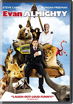 Amazoncom Evan Almighty Widescreen Edition Steve Carell Morgan