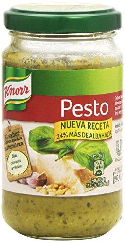 Knorr - Pesto - Nueva receta, 24% más de albahaca, 185 g