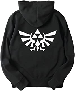The Legend of Zelda Triforce Symbol Pullover Hoodie Cosplay Costume