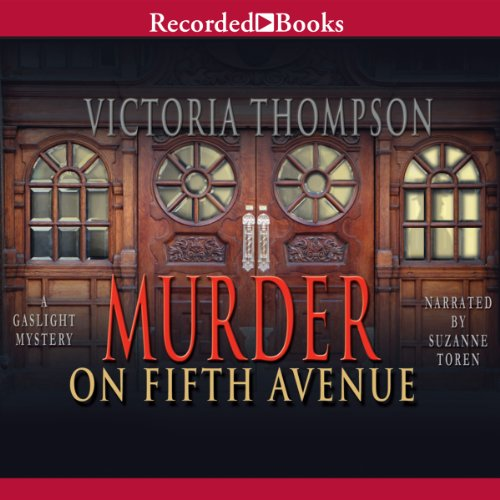 Murder on Fifth Avenue audiobook cover art