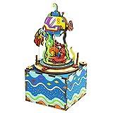 オルゴール オルゴール レトロ 音楽ボックス 装飾 DIY 結婚式 誕生日 プレゼント ミュージックボックス LCLJP (Color : AM406, Size : フリー)