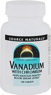 Source Naturals, Vanadium with Chromium 200 mcg 180 Tablets