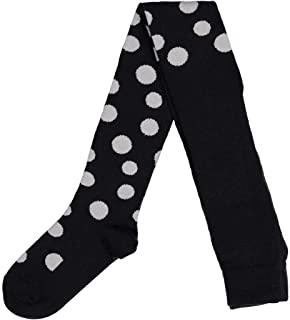 DOTTY PRINT WOOL TIGHTS (2-6YRS)