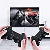 Upgraded Version USB Wireless Console Game Stick, HDMI TV Video Gaming Stick Console 3500+ Retro Games + 2 Wireless Gamepads, Video Game Console for PC/Android Phones, Tablets, TV Box (64G)