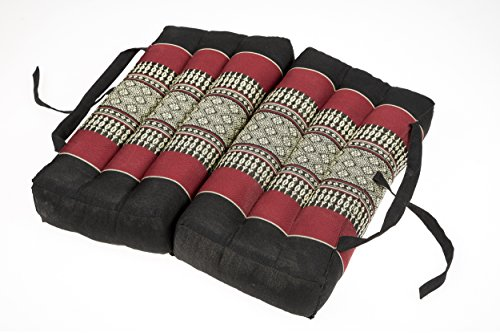 Handelsturm Cuscino Pieghevole 40x40 per Relax, Meditazione o Yoga