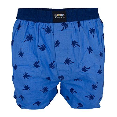 Happy Shorts Herren Boxershorts 89 Palmen L