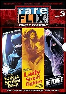 Rareflix Triple Feature, Vol. 3: Revenge of the Bushido Blade / Ninja Strikes Back / Lady Street Fighter