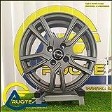 1 Nevada Llantas de Aleación NAD 6 15 4X100 40 73,1 Compatible Con Fiat Grande Punto Evo Opel Corsa Renault Clio Antracita Mate