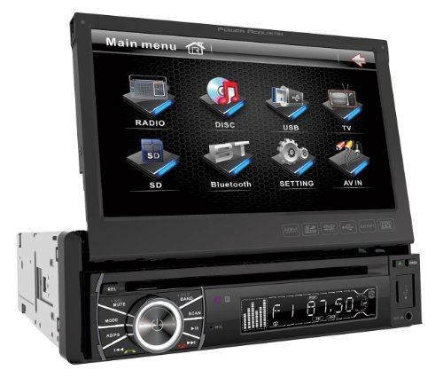 Power Acoustik PTID-8920B In-Dash DVD Receiver